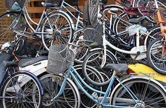 自転車&エアコン回収